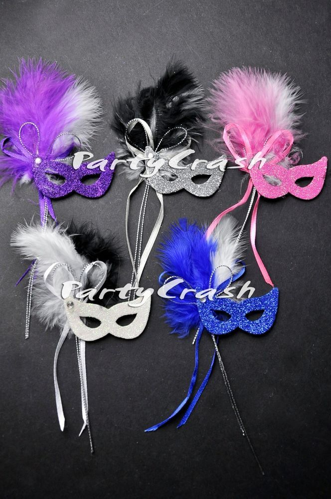 12 Mini Small Venetian Masquerade Mask Party Favor Wedding Decoration #PartyCrash #Wedding