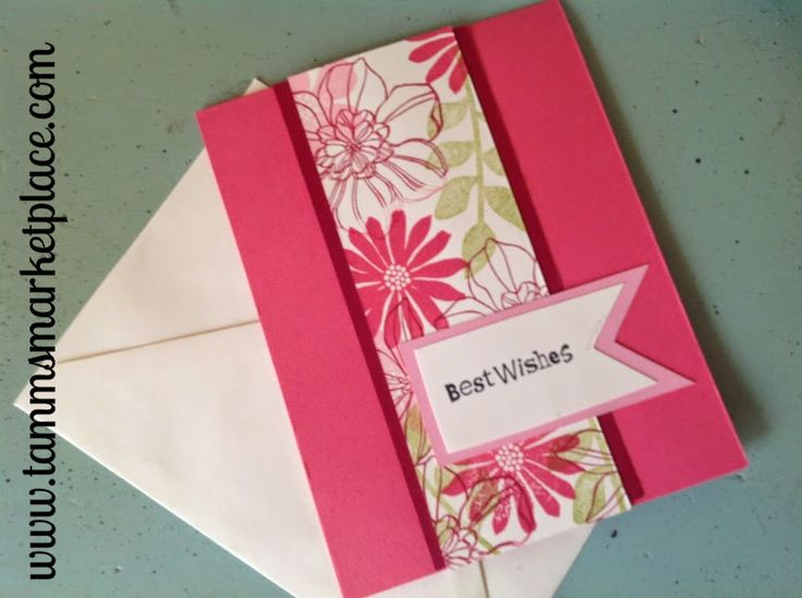 """Limited Edition from the """"Ivory Set"""" Best Wishes Card with Ivory Envelope – Tamm's Marketplace"""