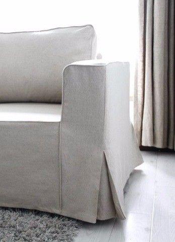 手持ちの「IKEAソファ」をさらに素敵にする11通りの方法|LIMIA (リミア) 5. プリーツ付の裾