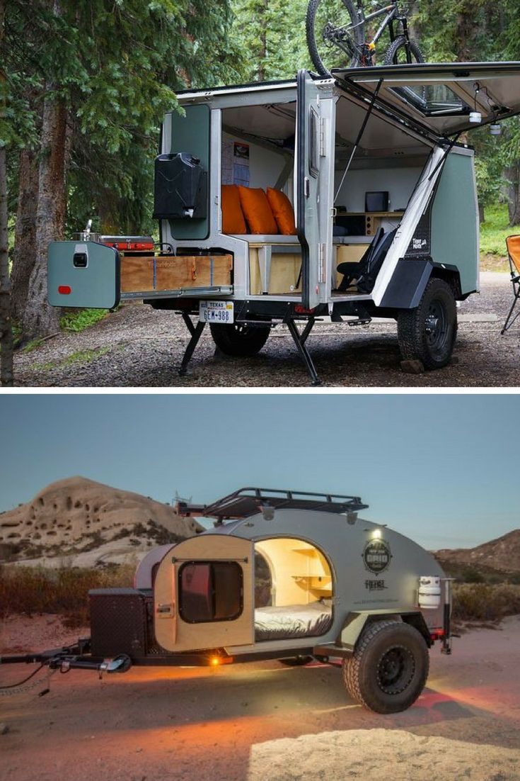Extreme(ly Comfortable) Camping: 13 Rugged Off-Road Trailers