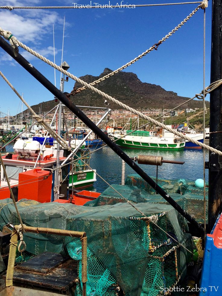 So much colour! Beautiful Hout Bay Harbour.