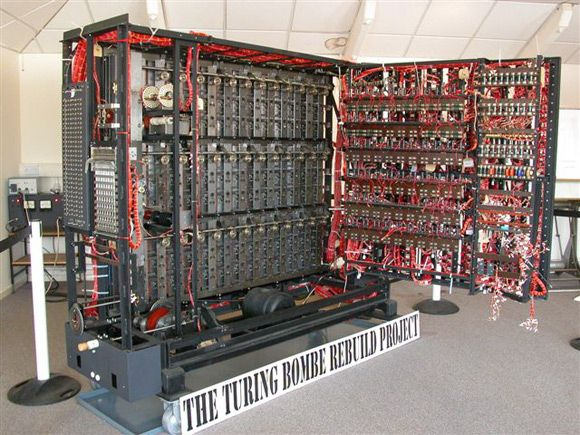 The Bombe (1950): Also called the Turing-Welchman Bombe, for breaking the German enigma machine in WW2 and introducing tools to cryptanalysis.