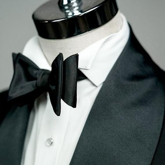 Mens Smart Grey Self-Tie Bow Tie 100/% Cotton Formal Menswear Gift For Him