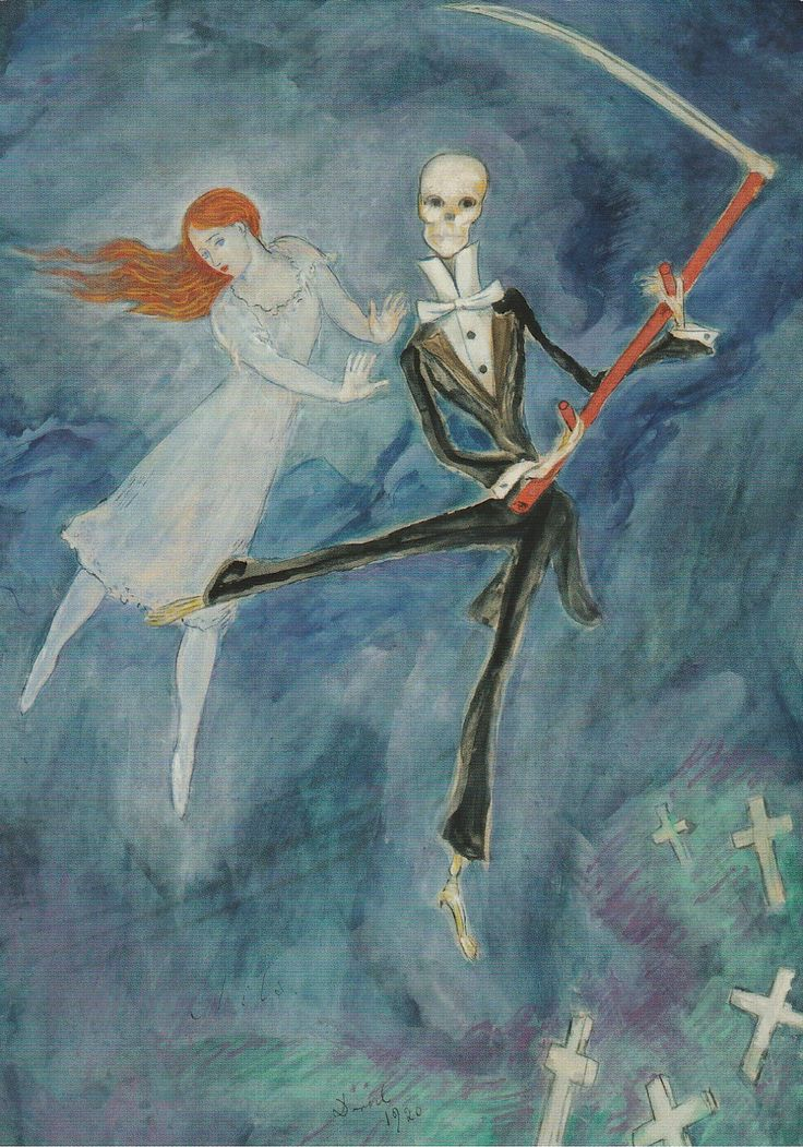 Original artwork Nils Dardel
