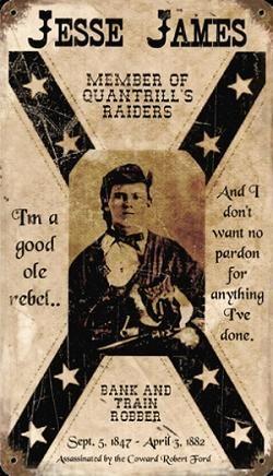 biker-gifts/rustic-signs/cowboy-western-saloon/BC8_Jesse_James_14x8.jpg