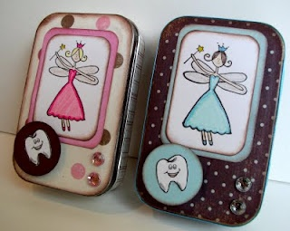 Tooth fairy box from Altoids tin