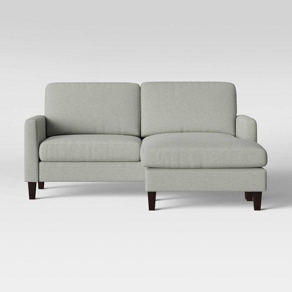 New Hampton Sofa With Adjustable Chaise Beige Threshold