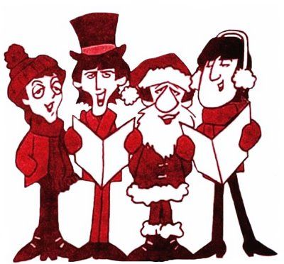 John Lennon Beatles Cartoon Christmas Shhmda Infochristmas Site