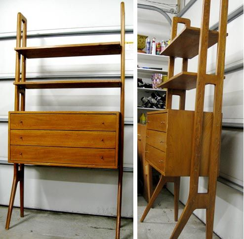 Bookcase/ cabinet. $395Wood Cabinets, Modern Bookcases Cabinets, Midcentury Modern, Mid Century Modern, Century Bookshelves, 395, Modern Bookcase Cabinets, Modern Bookshelves, Modern Bookshelf
