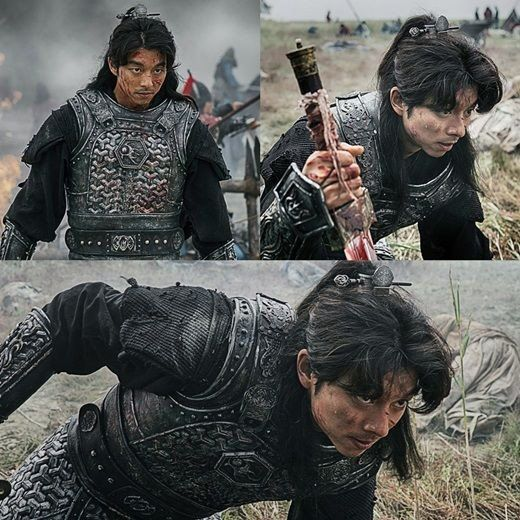 Gong Yoo puts on fierce warrior armor in more still cuts from his upcoming drama | allkpop.com