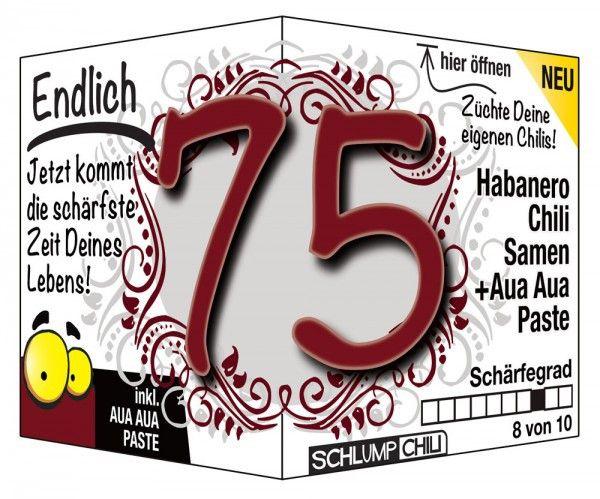 20 Der Besten Ideen Fur Geschenke Zum 75 Geburtstag Lettering
