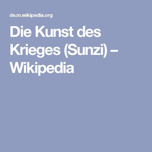 Die Kunst des Krieges (Sunzi) – Wikipedia