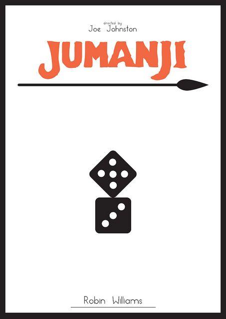Jumanji - Minimalist Poster by H. Svanegaard, via Flickr