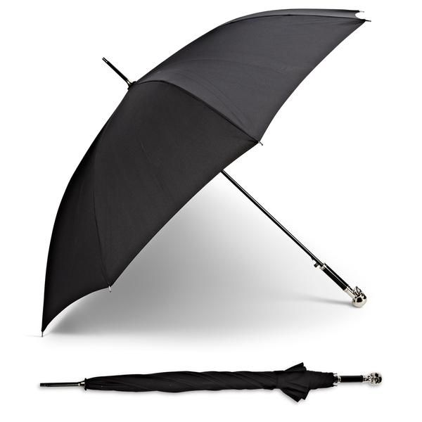 Add an air of mystery and trendiness to your style this season! Our skull handle umbrella is perfect for horror fans - or just those who like skulls!