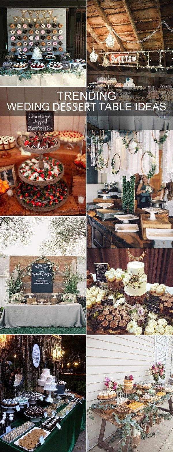 wedding reception at home ideas uk%0A    Country Rustic Wedding Dessert Table Ideas