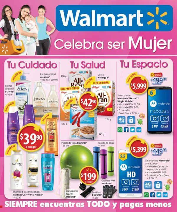 Folleto Walmart Mayo 2016