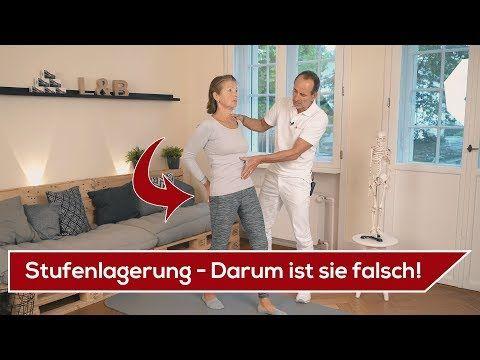 Iliosakralgelenk Schmerzen // ISG-Blockade // Übungen gegen ISG Schmerzen - YouTube