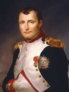 Recently identified painting of Napoleon by Jacques-Louis David (it was previously believed to be a copy) - owned by a private collector