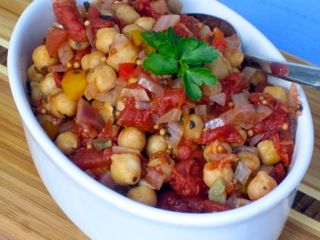 Chickpea Ratatouille