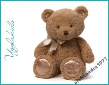 My Firts Teddy, brązowy, Gund