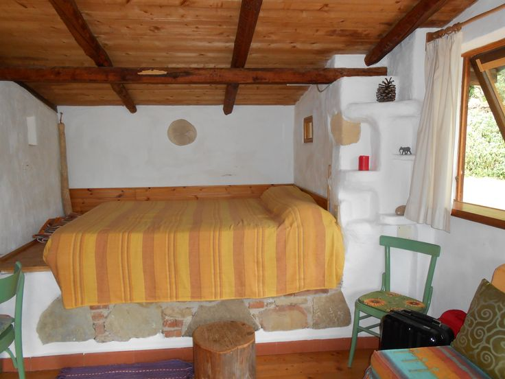Birds House - Love this bed nook www.onesicilyflower.it