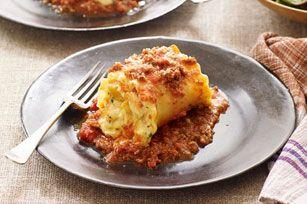 Creamy Lasagne Roll-Ups Recipe - Kraft Canada