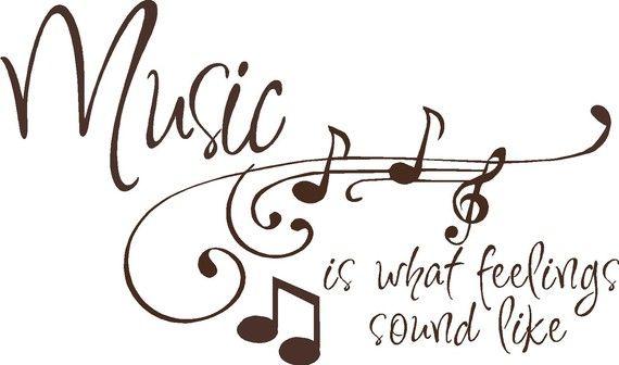 ♪ Music is what feelings sound like ♪♪