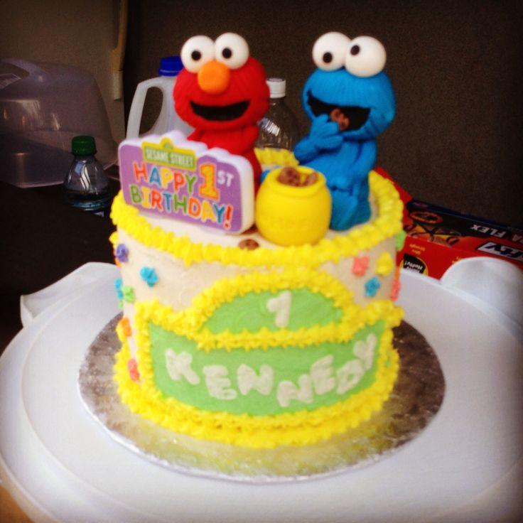 46 Best Elmo Cake Images On Pinterest