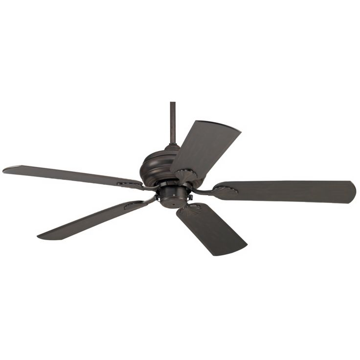"52"" Tropical Bronze Outdoor Rated Pull Chain Ceiling Fan - Style # 76348-76376"