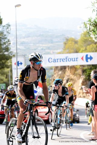 Steve Cummings - Stage 9 La Vuelta, 2015 - Cycling Photographs & Gifts