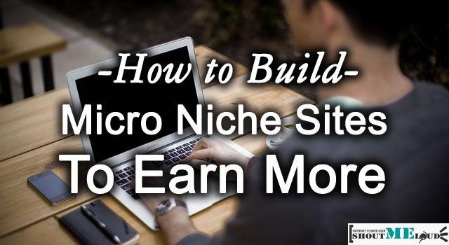 Micro Niche Sites To Make Money