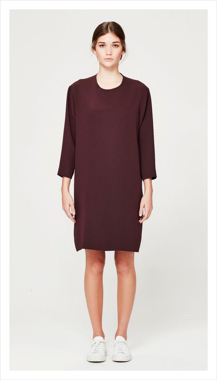 minimal tunic (luxe suiting) – Juliette Hogan