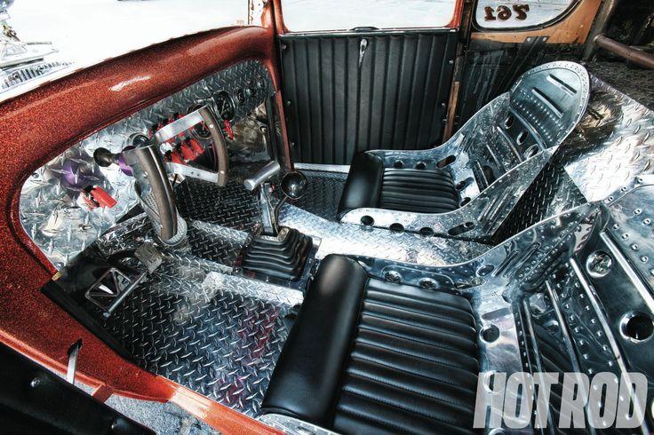 Image Result For Rat Rod Interior Ideas Truck Interior