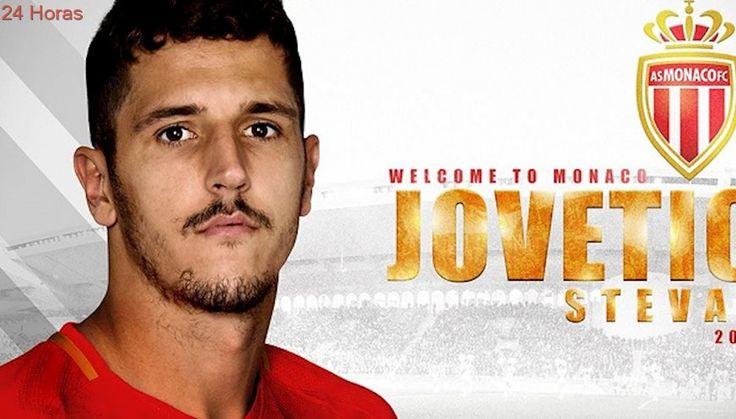 AS Mónaco confirmó la llegada del delantero Stevan Jovetic como nuevo refuerzo