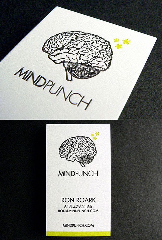 17 best chiropractic business card ideas images on pinterest quirky letterpress business card business cards the design inspiration reheart Image collections