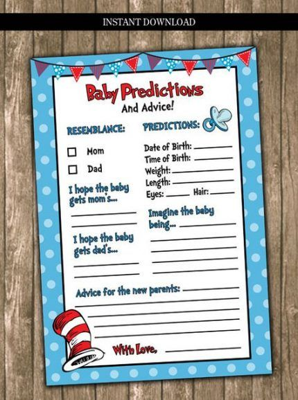 69+ Ideas baby shower themes for twins boy and girl dr. seuss for 2019
