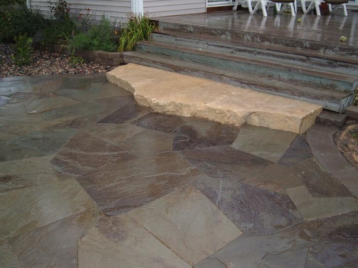 12 Best Images About Flagstone On Pinterest The Winter Landscaping And Con