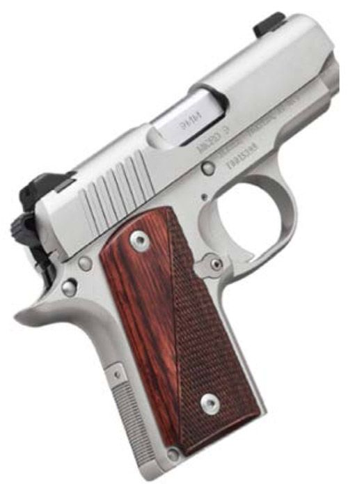 Kimber Micro 9 Stainless Rosewood