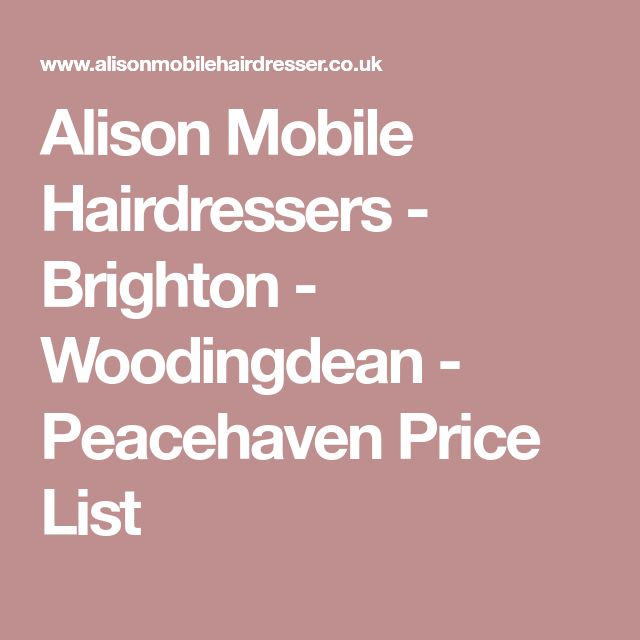 The 25+ best Hairdresser price list ideas on Pinterest Beauty - salon price list