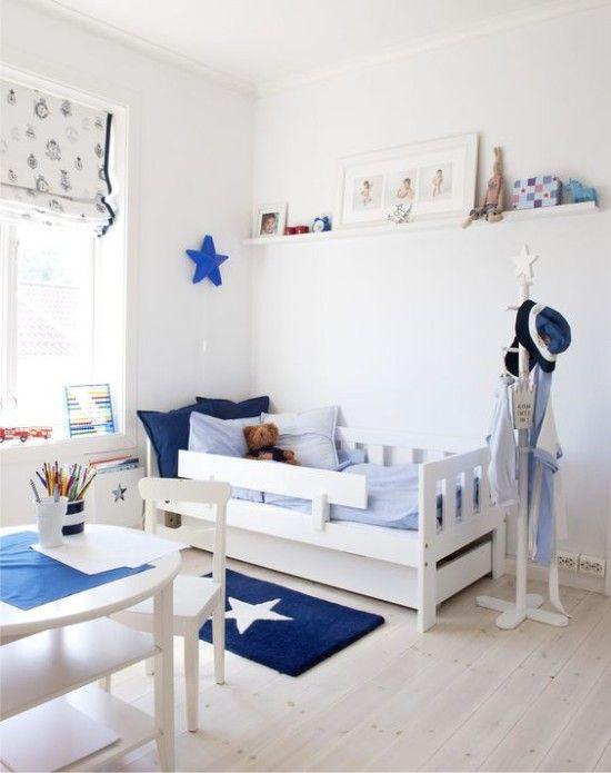 Синяя детская комната – 45 фото и 10 подсказок по дизайну интерьера