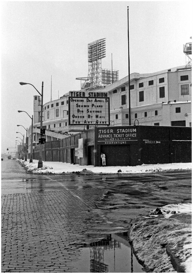 Detroit's Tiger Stadium....photo taken January, 1979