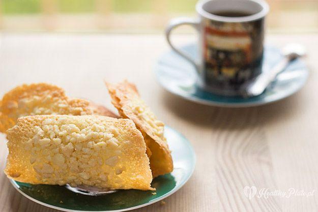 almond tiles biscuits / tejas de almendra