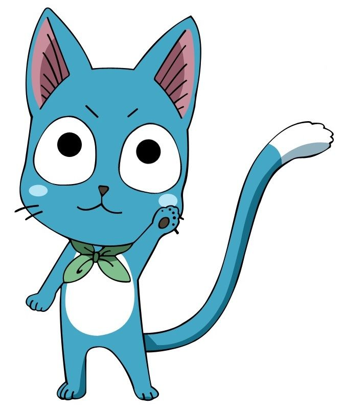 17 Best images about Happy of Fairy Tail on Pinterest ...