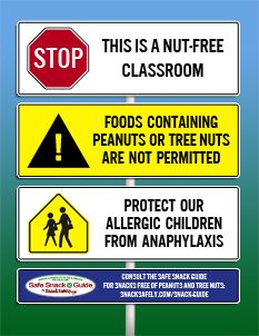 Peanut free list. There's a regularly updated pdf file on this site of snacks that are peanut free.