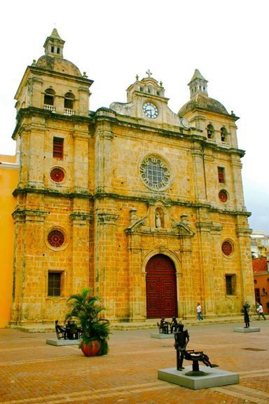 Church of Saint Peter Claver in Cartagena, Colombia