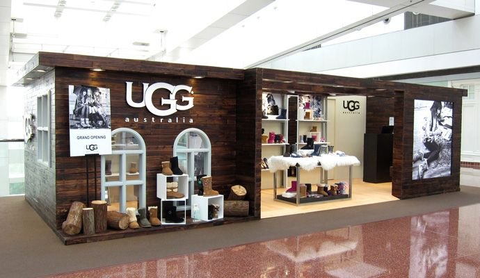 UGG Australia, located at Cincinnati Premium Outlets®: UGG® Australia markets the premier brand in luxury and comfort. The UGG® Australia product platform is directed toward consumers who value luxury, comfort and the highest quality footwear available.