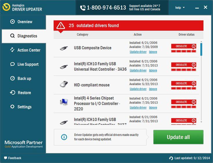 Auslogics Driver Updater 1.7 license key