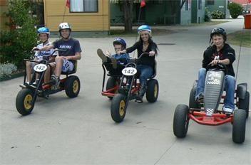 The Kids love the Karts