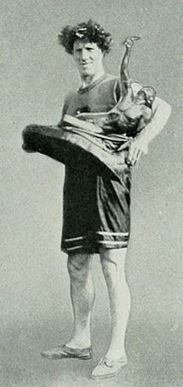 1912 Kenneth McArthur (Afrique du Sud) JO de Stockholm Suède