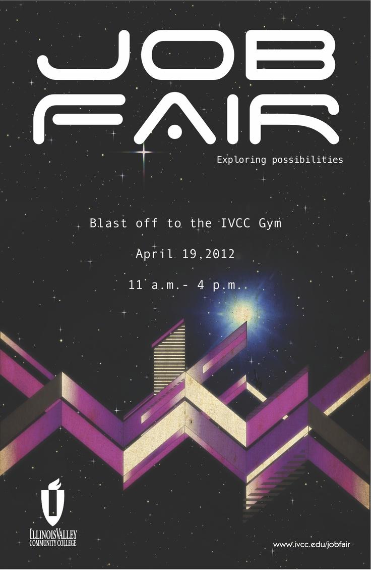 17 best images about career fair ideas behance job fair poster for ivcc